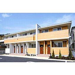 静岡県静岡市清水区村松1丁目の賃貸アパートの外観