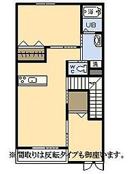 (新築)エムグレイスR[207号室]の間取り