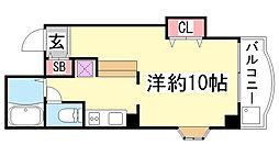 ダフネ二番館[3階]の間取り