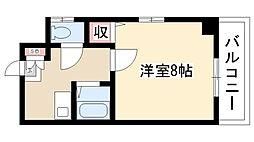 愛知県名古屋市南区元柴田西町1丁目の賃貸マンションの間取り