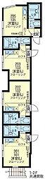 横濱マリーナ・ベイ3[2階]の間取り