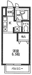 JMテラス 3[203号室号室]の間取り