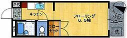 アミューズメント原田[4階]の間取り
