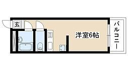 愛知県名古屋市天白区大坪2丁目の賃貸マンションの間取り