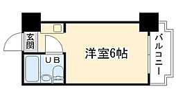 大阪府大阪市西区九条南3丁目の賃貸マンションの間取り