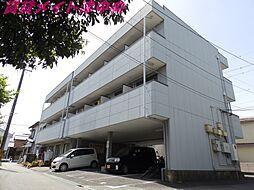 三重県津市江戸橋1丁目の賃貸マンションの外観