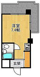キューブ北武庫之荘2[505号室]の間取り