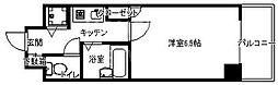 リーガル京都御所西[703号室号室]の間取り