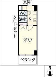 Estudio原[6階]の間取り