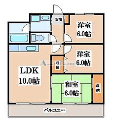 ステーションコート長田[3階]の間取り