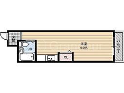 ジョイ都島本通[4階]の間取り