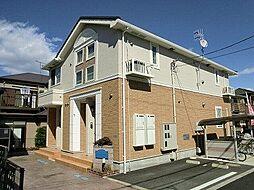 神奈川県秦野市渋沢2丁目の賃貸アパートの外観