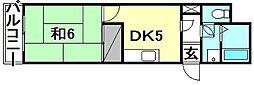 ダイアパレスポートアネックス[502 号室号室]の間取り