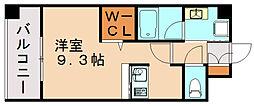 エンクレスト博多駅東II[10階]の間取り