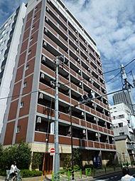 東京都中央区月島4丁目の賃貸マンションの外観