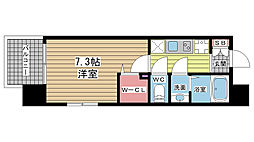 アーデンタワー神戸元町[6階]の間取り