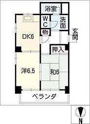 濃尾開発ビル[7階]の間取り