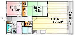 メゾン・ド・K セセラギ[2階]の間取り