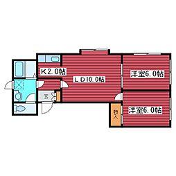 YKビル[3階]の間取り