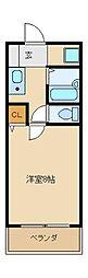 グリーンズマンション[2階]の間取り