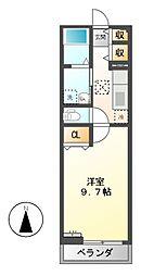 プラシード(岐阜市切通)[2階]の間取り
