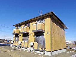 茨城県牛久市猪子町の賃貸アパートの外観