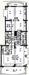 スカーラヒルズ仙台ガーデンウィング3階Fの間取り画像