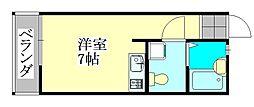 セボセボ津田沼[204号室]の間取り