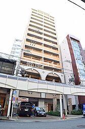 クラウンハイム北心斎橋フラワーコート[10階]の外観