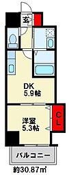 THE SQUARE Grand Residence[3階]の間取り