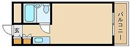 アートンヒュース[3階]の間取り