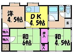 [一戸建] 愛媛県松山市東石井6丁目 の賃貸【/】の間取り