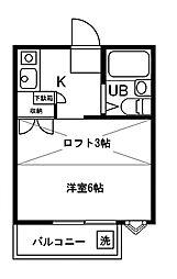 エクセルクリア田無[103号室]の間取り