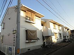 愛媛県松山市古川南1丁目の賃貸アパートの外観