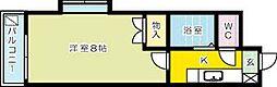 リファレンス片野[7階]の間取り