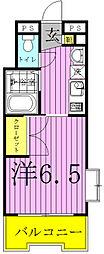 サフィールフォーレ65[3階]の間取り