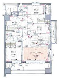 アピス川口幸町[7階]の間取り