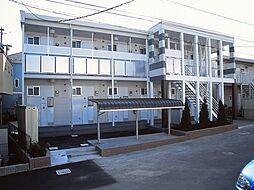 神奈川県川崎市多摩区中野島5丁目の賃貸アパートの外観