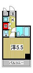 ジョイフル西川口第2[7階]の間取り