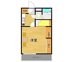レオパレスAKURA3[2階]の間取り