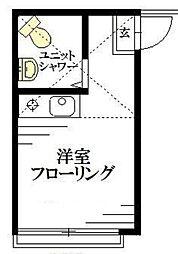 東京都練馬区練馬2の賃貸アパートの間取り