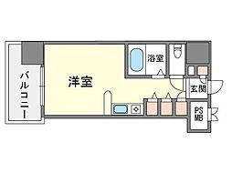 家具・家電付きモントーレ天神 S[10階]の間取り