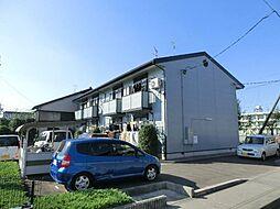 愛知県北名古屋市二子曙の賃貸アパートの外観