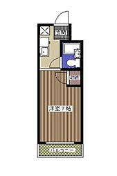 千葉県浦安市富士見3丁目の賃貸マンションの間取り