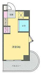 ベルトピア[3階]の間取り