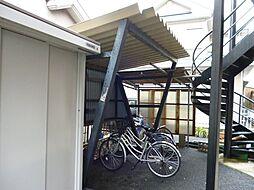 滋賀県東近江市五個荘石塚町の賃貸アパートの外観