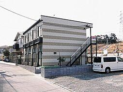 東京都町田市野津田町の賃貸アパートの外観