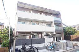 東京都葛飾区西亀有4丁目の賃貸アパートの外観