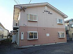 埼玉県春日部市備後東7丁目の賃貸アパートの外観