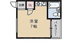 暁マンション[2階]の間取り